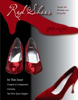 Red Shoes Magazine Cover